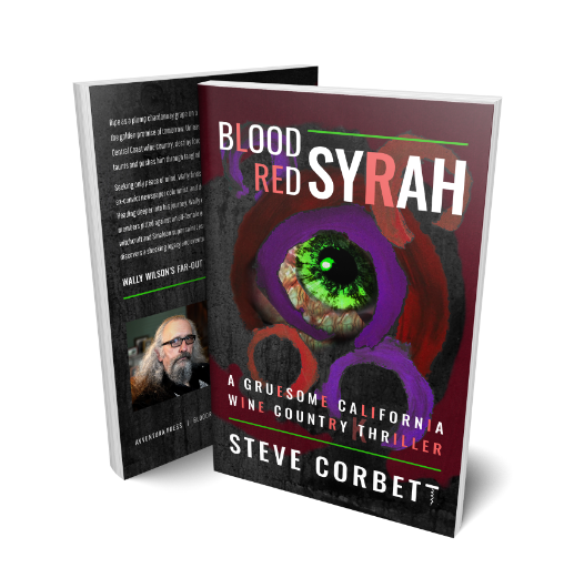 Book: Blood Red Syrah